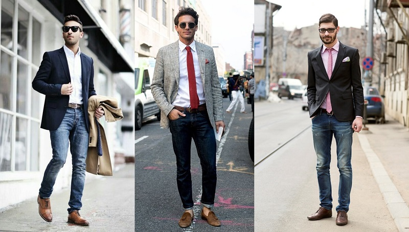 Sapato Social com calça Jeans