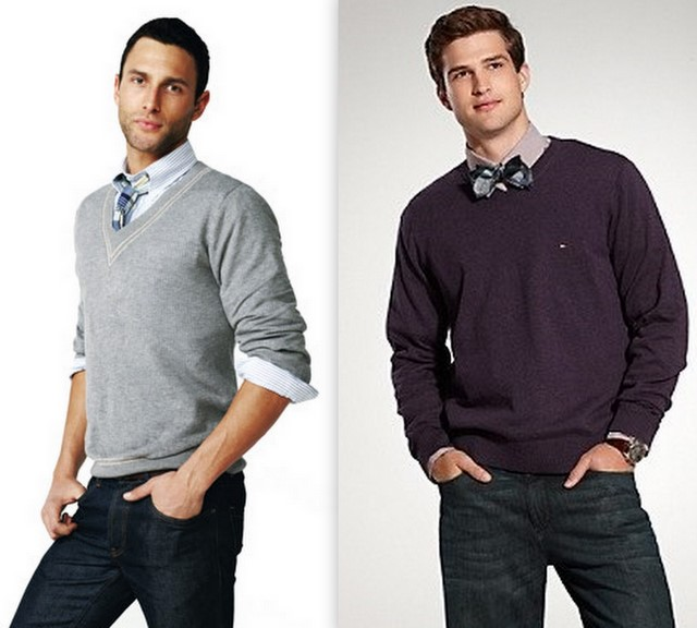 A diferença entre os modelos de suéteres são as golas 1b20be9bfcf