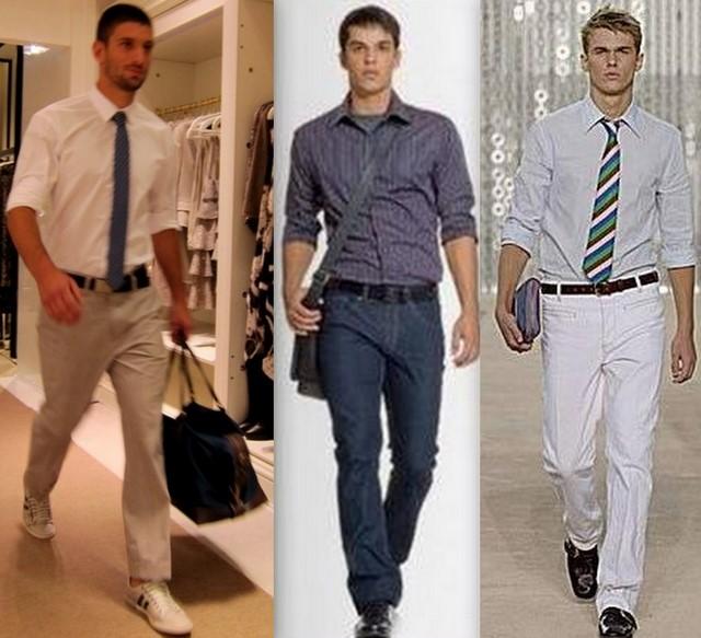 Como combinar calça e camisa social
