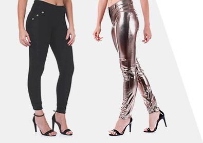 A história das calças femininas
