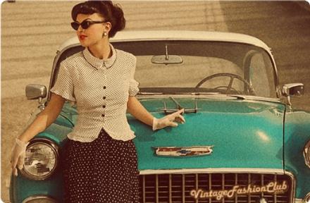 Estilo Retrô Feminino: Inspiração Vintage
