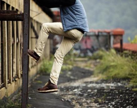 Calças Chino, praticamente um jeans mais fashion
