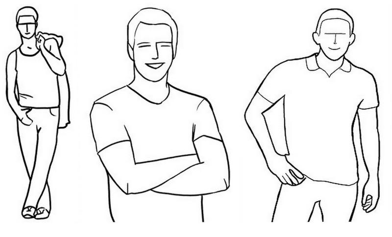 Poses para Homens Fotografia (2)