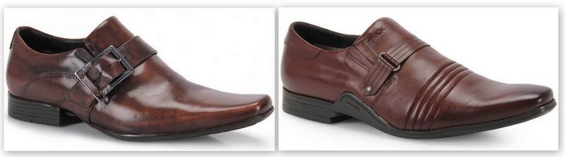 Sapato Monk Marrom