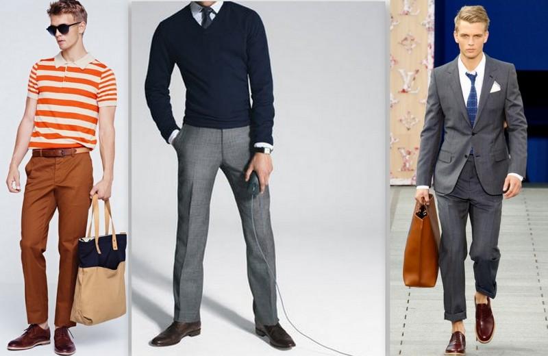 Sapato marrom masculino, um detalhe sofisticado