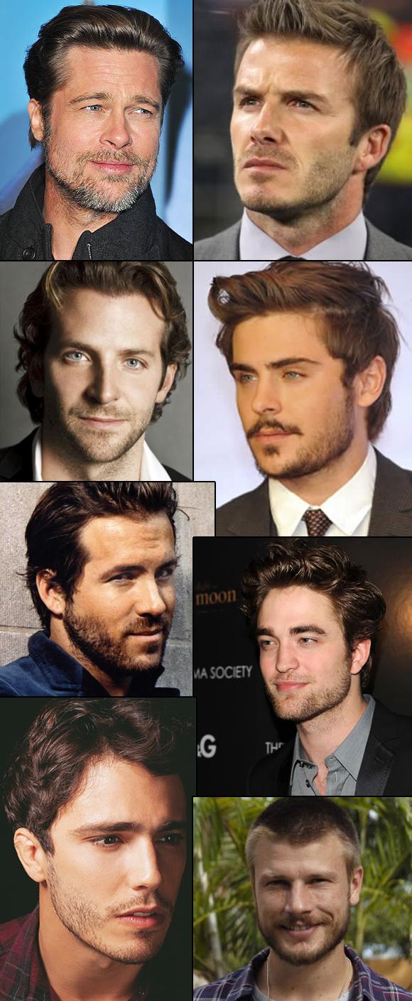 Famosos de barba