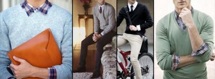 Dica de sobreposição: Suéter + Camisa