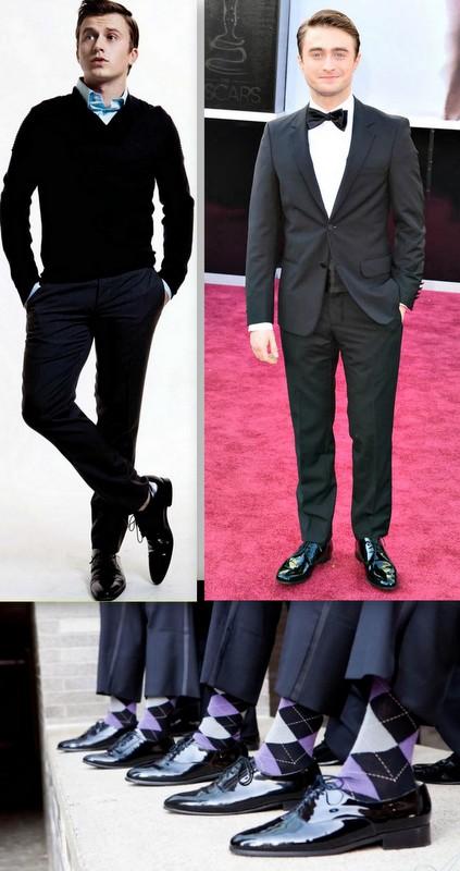 Homens Sapatos Verniz (2)