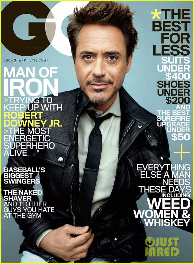 Robert Downey Jr GQ (5)