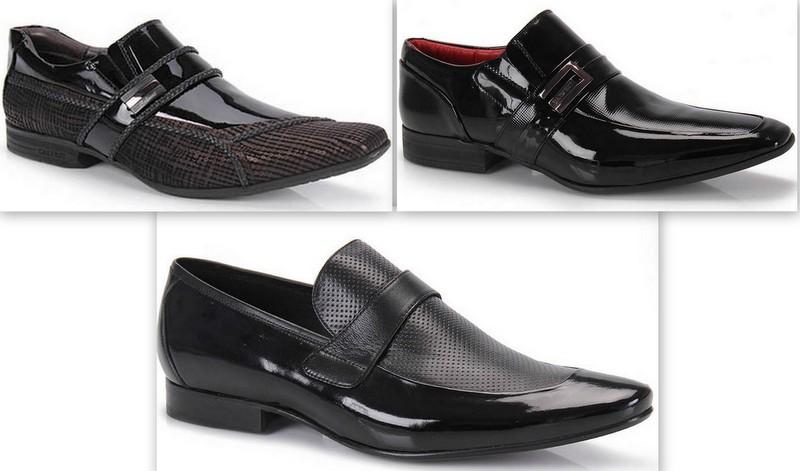 Sapatos Verniz Homem (1)