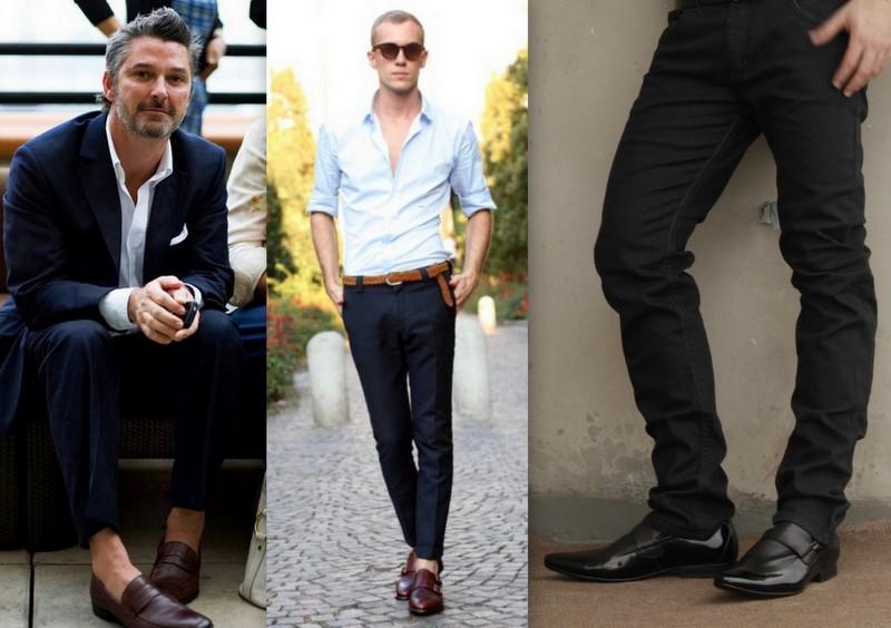 0cafc11509 Por mais que ele seja considerado um sapato social não é aconselhável o uso  do mocassim em looks muito formais