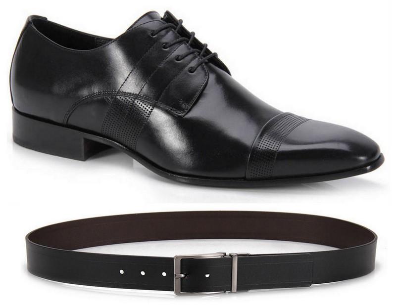 Sapato Cinto Preto