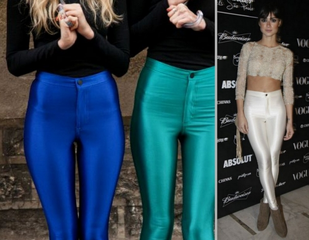 Cirré e Disco Pants