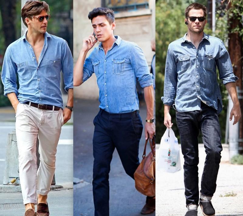 Moda Camisa Jeans (2)