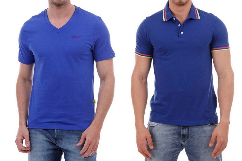 Camisetas Azul