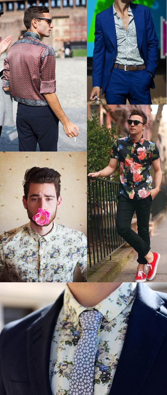 Camisa Social Estampada é a Nova Febre!