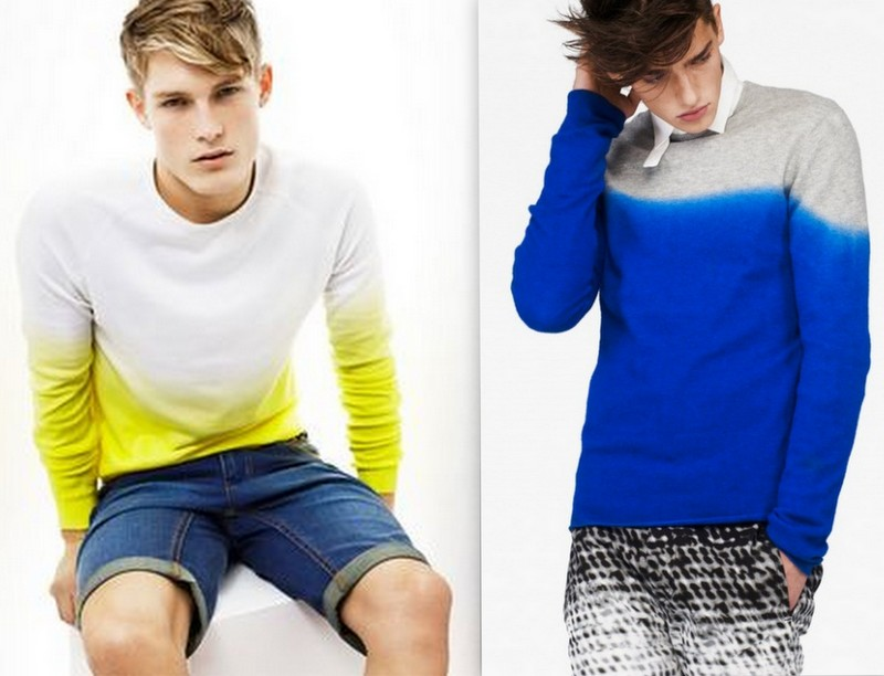 Moda Dip Dye Homem (2)