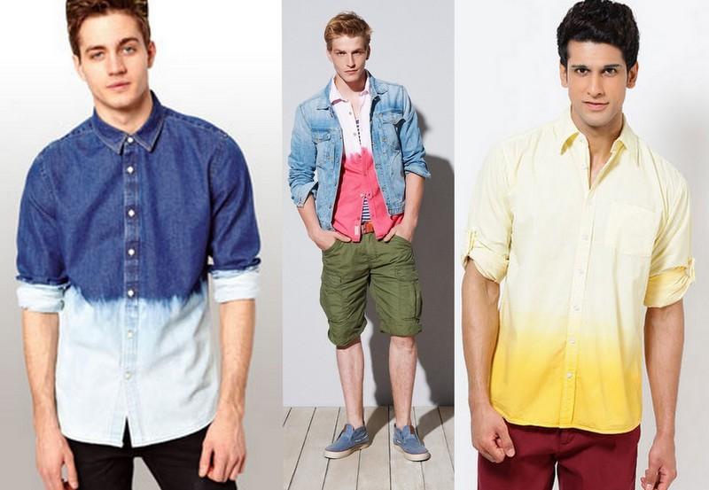 Moda Dip Dye Homem (3)
