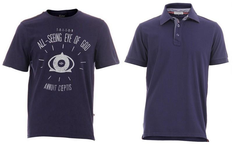 Camisetas Azul Marinho