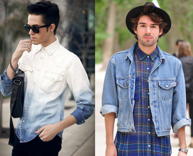 Homens Camisa (2)