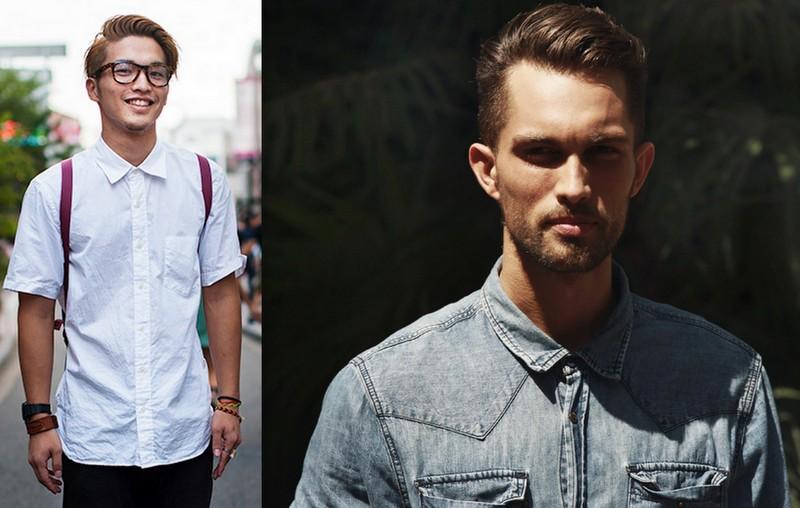 Homens Camisa (4)