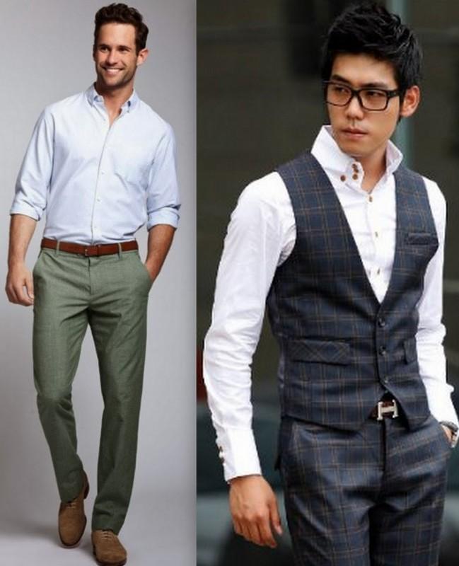 b17c56af5 Como usar camisa social com calça jeans  camisa para dentro ou para fora