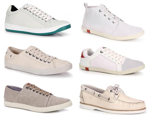 Sapatos Claros