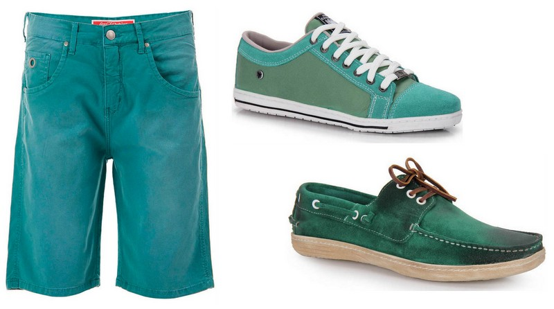 Bermuda e Sapatos