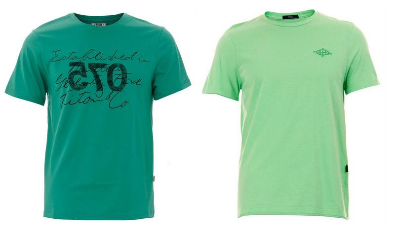 Camisetas Verdes