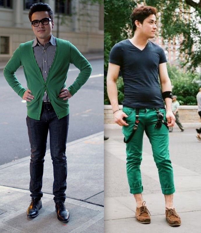 Moda Verde Homem (8)