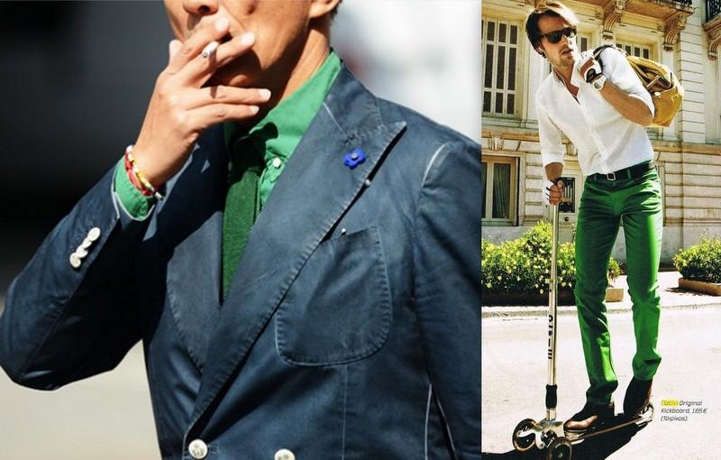 Moda Verde Homem (9)