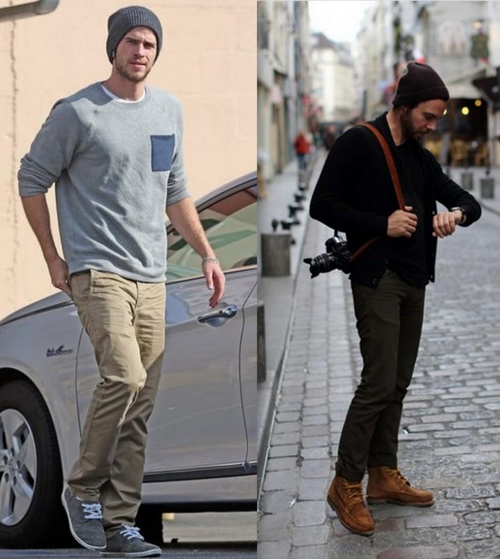 Homens com Gorros (6)