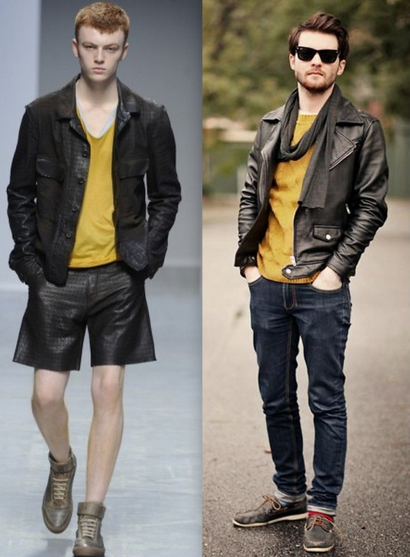 Moda Homem Mostarda (1)