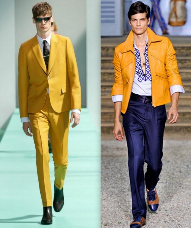 Moda Homem Mostarda (2)