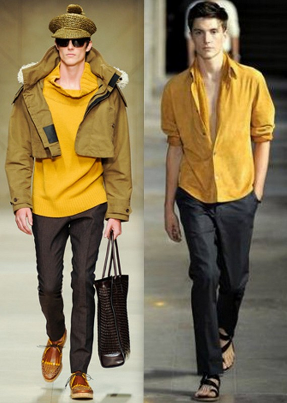 Moda Homem Mostarda (3)