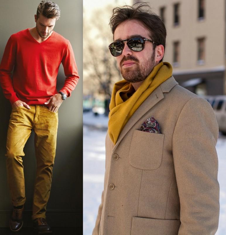 Moda Homem Mostarda (4)