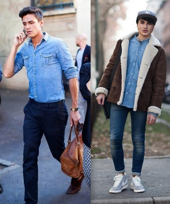 Looks Camisa Jeans Inverno (6)