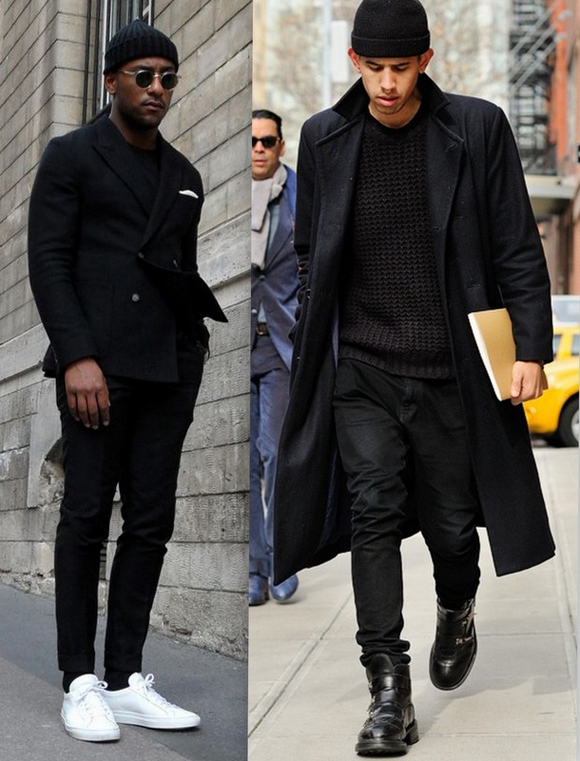 Looks Homens All Black (1)
