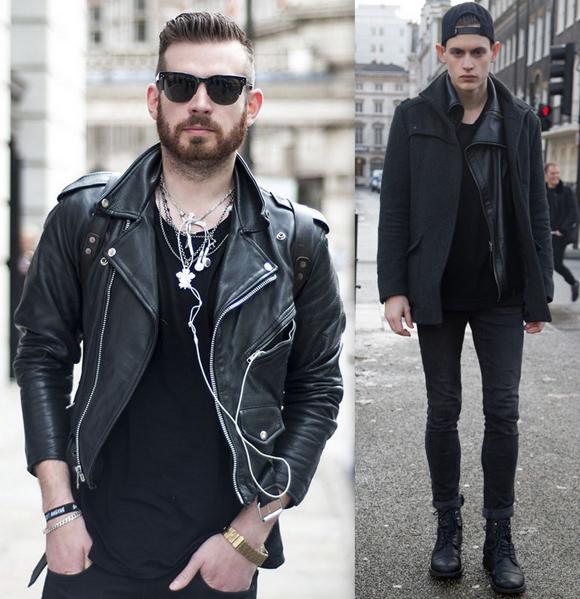 Looks Homens All Black (2)