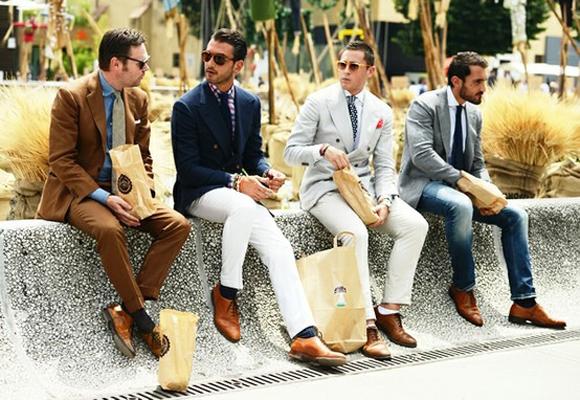 Looks Homens Sapatos Sociais (1)
