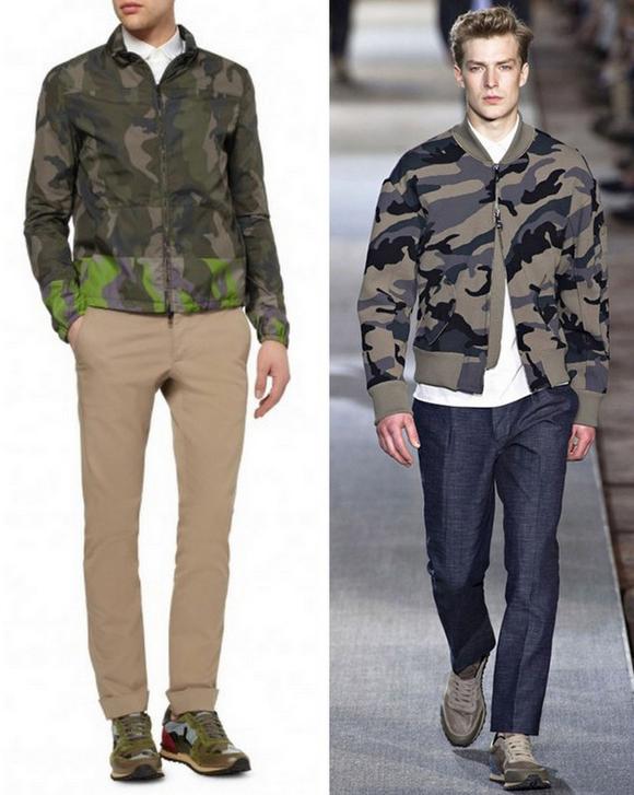 Moda Militar Homem 2014 (2)