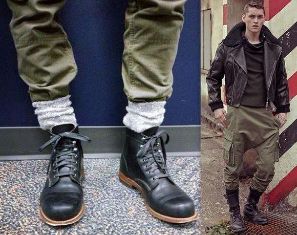 Moda Militar Homem 2014 (8)