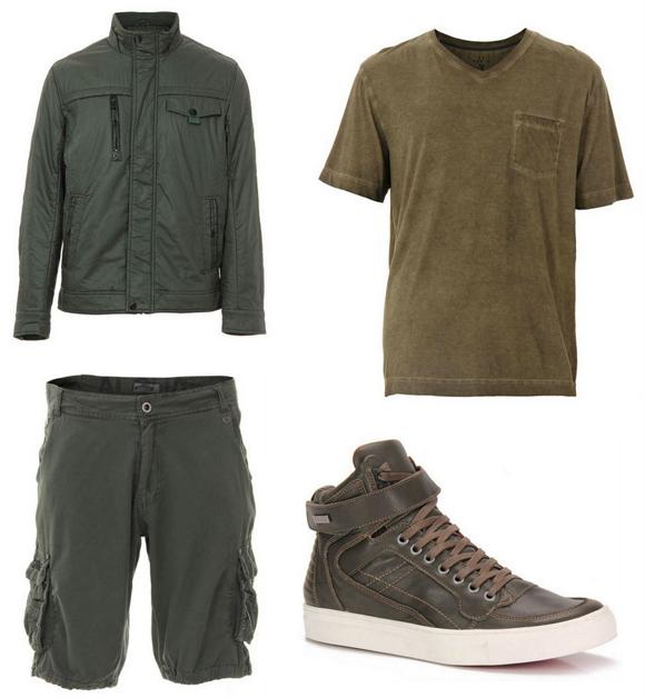 Moda Militar Masculina