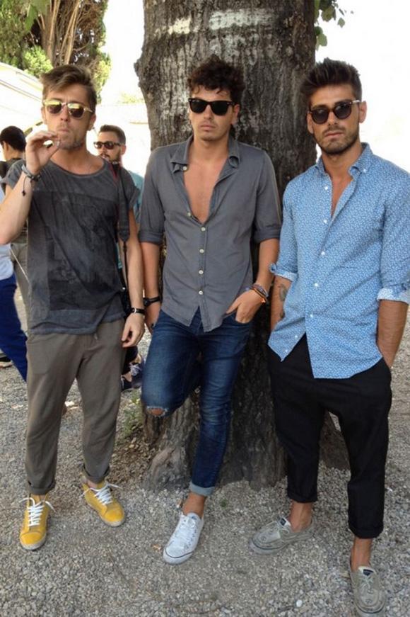 Homens Barra Dobrada (1)