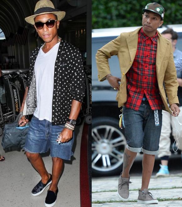 Looks Homens Bermuda Jeans (1)