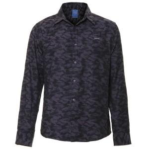 Camisa Casual Camuflada Masculina Colcci 6410336112