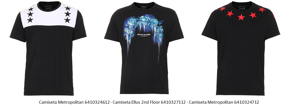 camiseta estampada 12