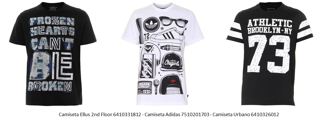 camiseta estampada 13