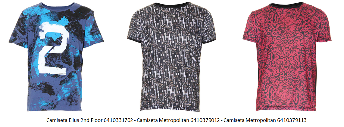 camiseta estampada 18