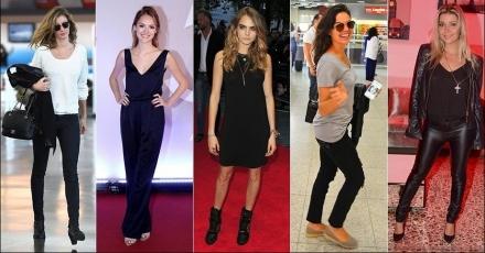 Inspire-se nas famosas para ter um look básico porém cheio de estilo